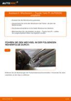SWF 190015 für Yaris Schrägheck (_P1_) | PDF Handbuch zum Wechsel