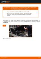 Wie Ford Mondeo Mk3 Limousine Zündkerzen wechseln - Anleitung