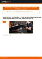 Wie Ford Mondeo Mk3 Limousine Keilriemen wechseln - Anleitung