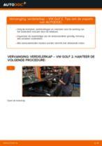 Motordelen vervangen en reparatie handleiding met illustraties