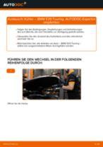 BMW E32 Reparaturanweisung Schritt-für-Schritt