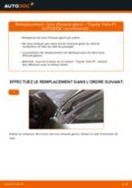 Comment changer et régler Bras d'essuie-glace nettoyage des vitres arrière : guide pdf gratuit
