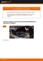 Instalación Bujía de encendido FORD MONDEO III Saloon (B4Y) - tutorial paso a paso