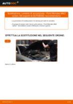 Come cambiare candele di accensione su Ford Mondeo Mk3 sedan - Guida alla sostituzione