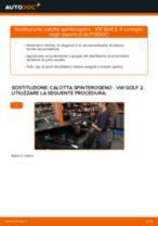 Motore manuale di sostituzione con illustrazioni