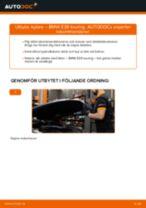 Bilmekanikers rekommendationer om att byta BMW BMW E39 530d 3.0 Fjädrar