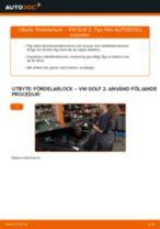 Bilmekanikers rekommendationer om att byta VW Golf 5 1.6 Multirem