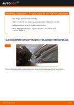 PDF med trinn for trinn-veiledning for bytte av Touran 1t1 1t2 Baklykter