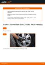 Kuinka vaihtaa koiranluu eteen Ford Mondeo Mk3 sedan-autoon – vaihto-ohje