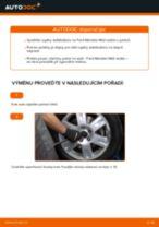 Jak vyměnit přední tyčky stabilizátora na Ford Mondeo Mk3 sedan – návod k výměně