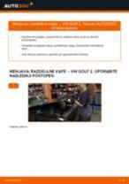 Kako zamenjati avtodel razdelilne kape na avtu VW Golf 2 – vodnik menjave