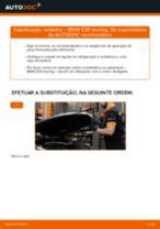 Como mudar radiador em BMW E39 touring - guia de substituição