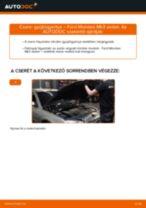 Gyújtógyertya-csere Ford Mondeo Mk3 sedan gépkocsin – Útmutató
