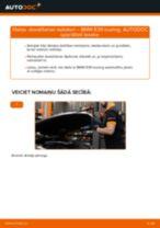 Kā nomainīt: dzesēšanas radiatori BMW E39 touring - nomaiņas ceļvedis