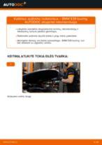 Pasidaryk pats vadovas kaip pakeisti Amortizatoriaus Apsauga BMW 4 Serija 2020