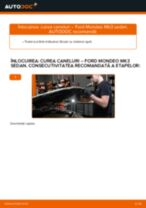 Cum să schimbați: curea caneluri la Ford Mondeo Mk3 sedan | Ghid de înlocuire