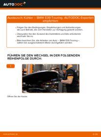 Wie der Wechsel durchführt wird: Kühler 530d 3.0 BMW E39 Touring tauschen