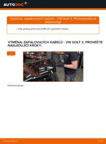Jak provést výměnu: Zapalovací Kabely na 1.8 GTI VW GOLF II (19E, 1G1)
