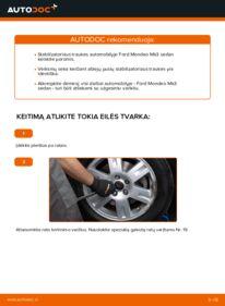 Kaip atlikti keitimą: 2.0 TDCi Ford Mondeo mk3 Sedanas Pasukimo trauklė