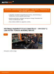 Kaip atlikti keitimą: 1.8 GTI VW GOLF II (19E, 1G1) Paleidimo liepsna sistema