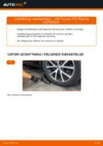 Udskift støddæmper bag - VW Touran 1T3 | Brugeranvisning