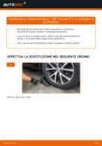 Come cambiare ammortizzatori della parte posteriore su VW Touran 1T3 - Guida alla sostituzione