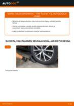 Kuinka vaihtaa iskunvaimentimet taakse VW Touran 1T3-autoon – vaihto-ohje