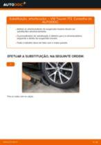 Mudar Bujão Do Carter VW TOURAN: manual técnico