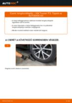 Hátsó lengéscsillapító-csere VW Touran 1T3 gépkocsin – Útmutató