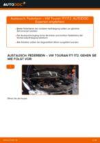 Anleitung: VW Touran 1T1 1T2 Federbein vorne wechseln