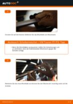 Wie VW Touran 1T1 1T2 Scheibenwischer hinten wechseln - Schritt für Schritt Anleitung