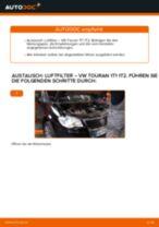 Wie VW Touran 1T1 1T2 Luftfilter wechseln - Schritt für Schritt Anleitung