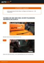 Wie VW Passat 3C B6 Variant Scheibenwischer hinten wechseln - Schritt für Schritt Anleitung