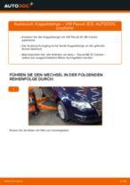 Wie VW Passat 3C B6 Variant Koppelstange vorne wechseln - Schritt für Schritt Anleitung