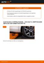 Wie VW Golf 6 Koppelstange vorne wechseln - Anleitung