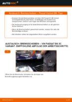 Wie VW Passat 3C B6 Variant Bremsscheiben vorne wechseln - Anleitung