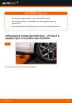 Hoe stabilisatorstang vooraan vervangen bij een VW Golf 6 – vervangingshandleiding