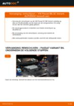 Hoe remschijven achteraan vervangen bij een VW Passat 3C B6 Variant – vervangingshandleiding