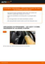 Hoe ruitenwissers vooraan vervangen bij een VW Caddy 3 Kombi – Leidraad voor bij het vervangen