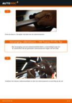 VW Wisserbladen achter en vóór veranderen doe het zelf - online handleiding pdf