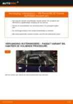 Hoe Ruitenwisserbladen veranderen en installeren VW PASSAT: pdf handleiding