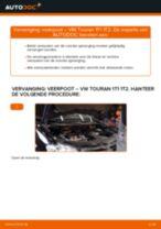 Hoe veerpoot vooraan vervangen bij een VW Touran 1T1 1T2 – Leidraad voor bij het vervangen