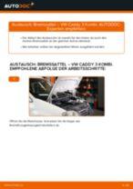 VW Caddy Pickup Reparaturanweisung Schritt-für-Schritt