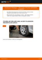 Radlager hinten selber wechseln: VW Caddy 3 Kombi - Austauschanleitung