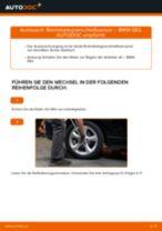 Bremsbelagverschleißsensor hinten selber wechseln: BMW E82 - Austauschanleitung