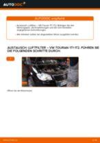 Luftfilter selber wechseln: VW Touran 1T1 1T2 - Austauschanleitung