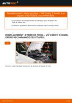 Manuel d'utilisation VW CADDY