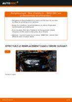 Notre guide PDF gratuit vous aidera à résoudre vos problèmes de BMW BMW E90 320i 2.0 Filtre d'Habitacle
