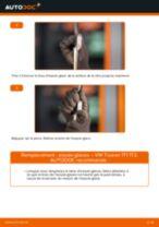 Tutoriel PDF étape par étape sur le changement de Essuie-Glaces sur VW TOURAN (1T1, 1T2)