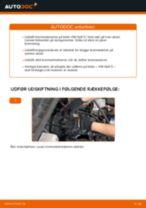 Udskift bremseskiver for - VW Golf 3   Brugeranvisning